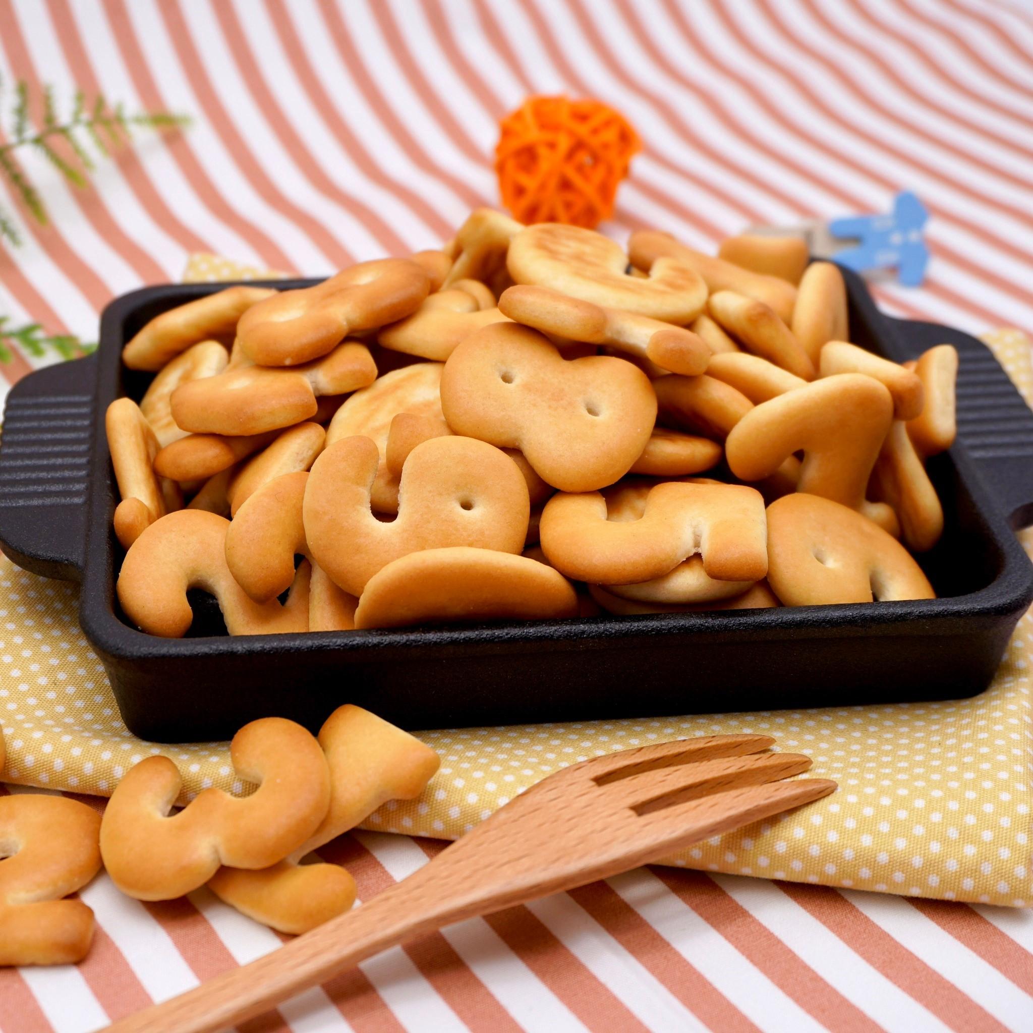 嘴甜甜 數字餅乾 200公克 餅乾系列 飛機餅乾 奶香餅乾 造型餅乾 寶龍 傳統 古早味 餅乾 零食 素食 現貨