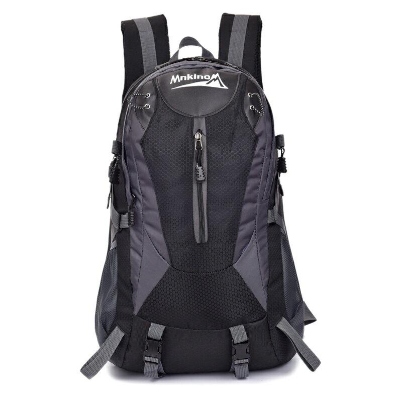 【MNKINO】40L 戶外旅行休閒後背包/登山背包(黑) FK012BK