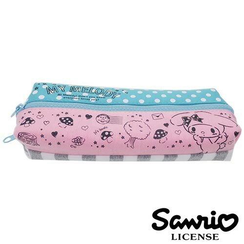 情書款【 】美樂蒂 My Melody 雙層 筆袋 鉛筆盒 三麗鷗 Sanrio - 424770