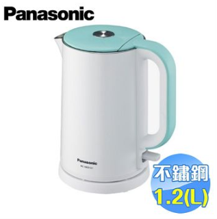 Panasonic 國際 1.2L雙層防燙不鏽鋼快煮壺 NC-HKD121