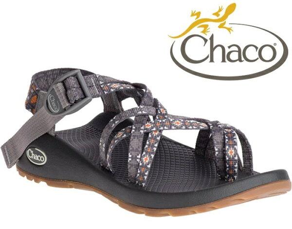 Chaco雙織帶涼鞋越野運動涼鞋水陸鞋綁帶涼鞋細織夾腳款女美國佳扣CH-ZCW04HE44黃金教條