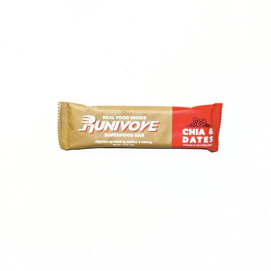 騎跑泳者-RUNIVORE奇亞子超級食物能量棒–好吃、天然、健康、充滿能量,四種口味!
