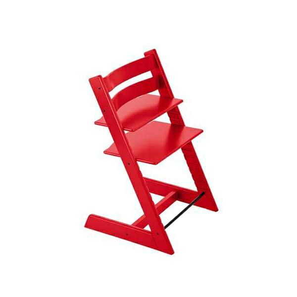 STOKKETrippTrapp®成長椅(櫸木紅色)餐椅