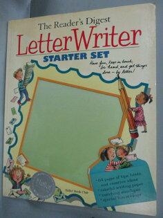【書寶二手書T1/語言學習_WDK】LetterWriterStarterSet_Reader'sDigest