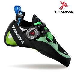 TENAYA 男 MUNDAKA攀岩鞋【黑綠】 /  城市綠洲(RBRS技術、橡膠鞋底、專利DRAXtor)