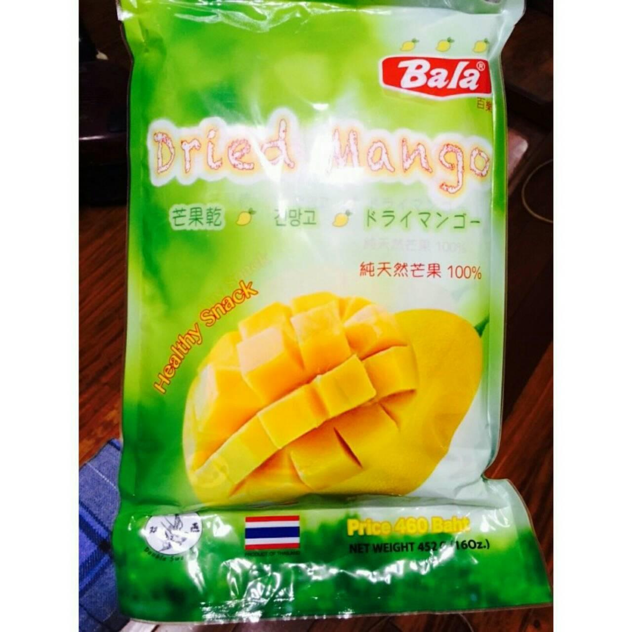 現貨❤ Bala芒果乾  停不下嘴的口感 不甜不膩 452g 內有226x2包裝 野芒果香氣 獨特風味口感