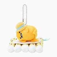 蛋黃哥週邊商品推薦【真愛日本】17062700012 造型玩偶吊飾-GU木筏叢林+AAU 三麗鷗 蛋黃哥 娃娃 玩偶