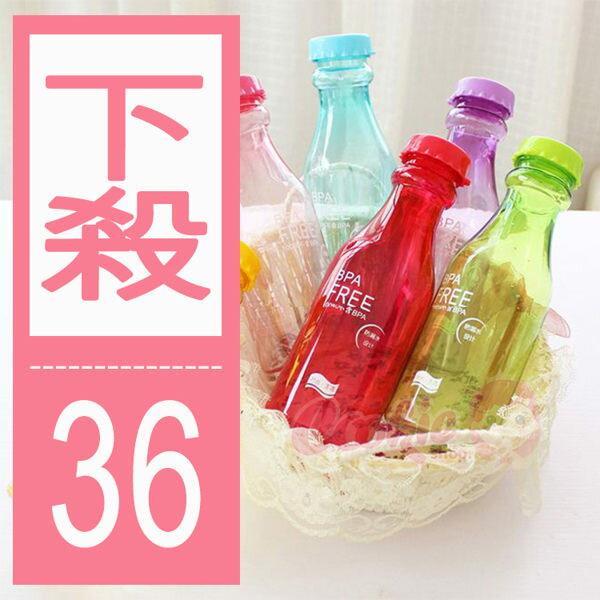 韓國摔不破汽水瓶 隨身杯 隨行杯 水杯 亮面水壺 550ml【庫奇小舖】
