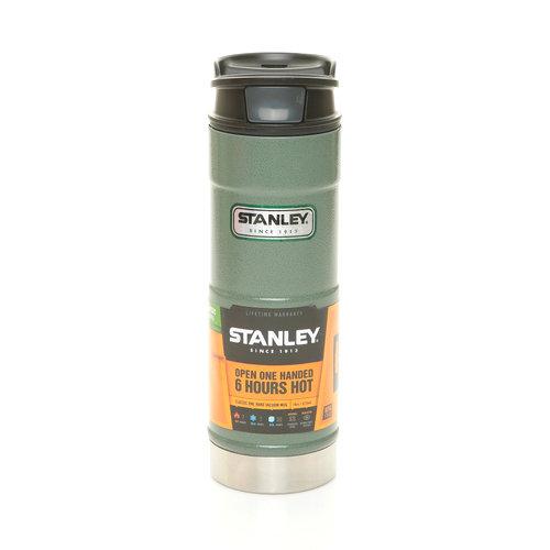 【【蘋果戶外】】Stanley 1001394 美式復古不鏽鋼保溫水壺 經典單手杯 咖啡杯 保溫杯 斷熱杯 0.47L
