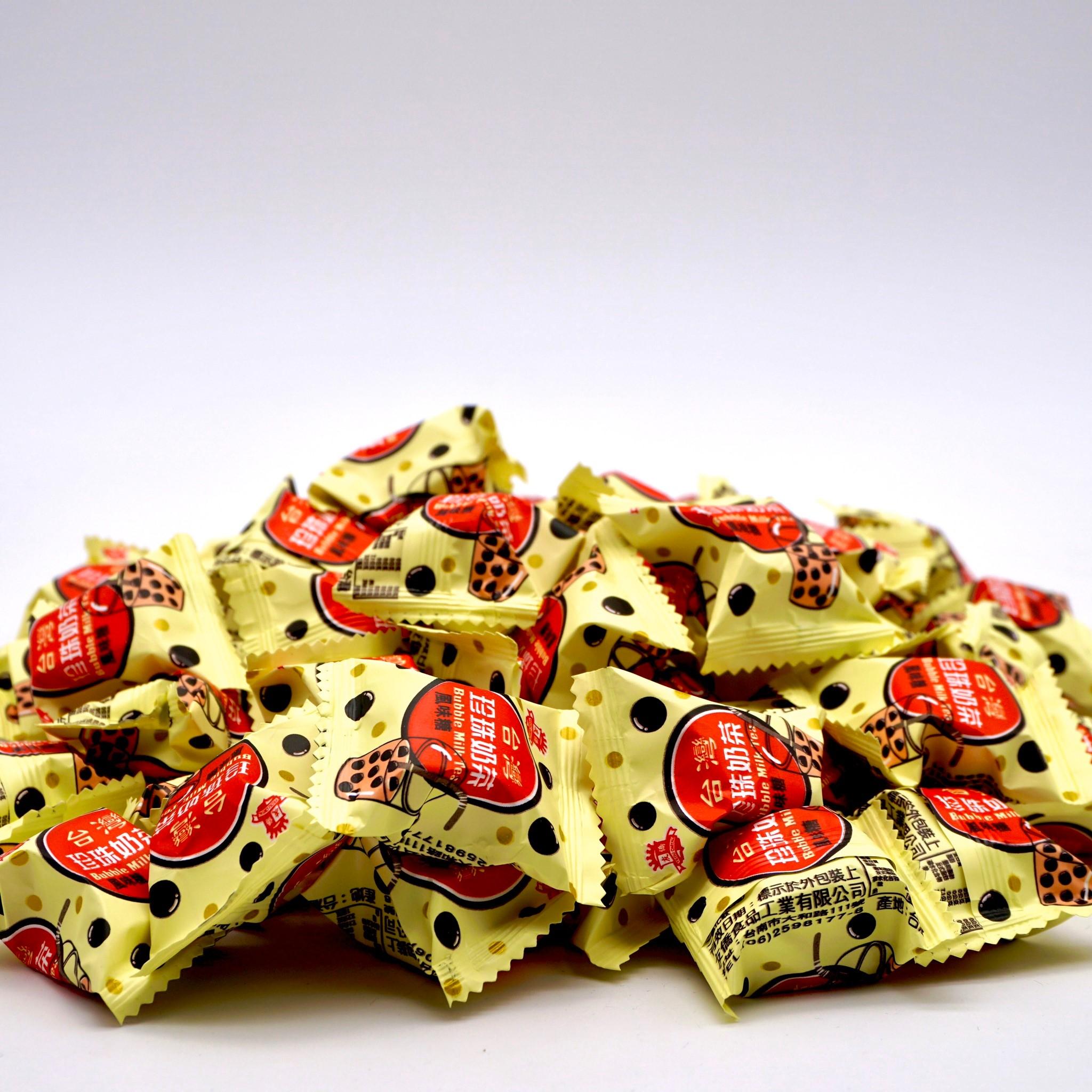 嘴甜甜 珍珠奶茶軟糖 200公克 糖果系列 珍珠奶茶 水果糖 軟糖 QQ糖 牛奶糖 喜糖 素食 現貨