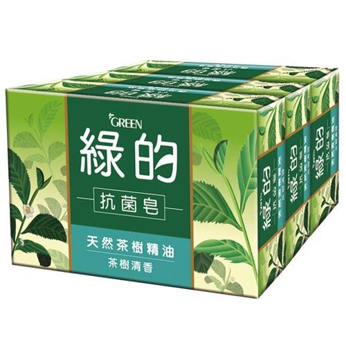 綠的GREEN 抗菌皂 茶樹清香 100gX3入
