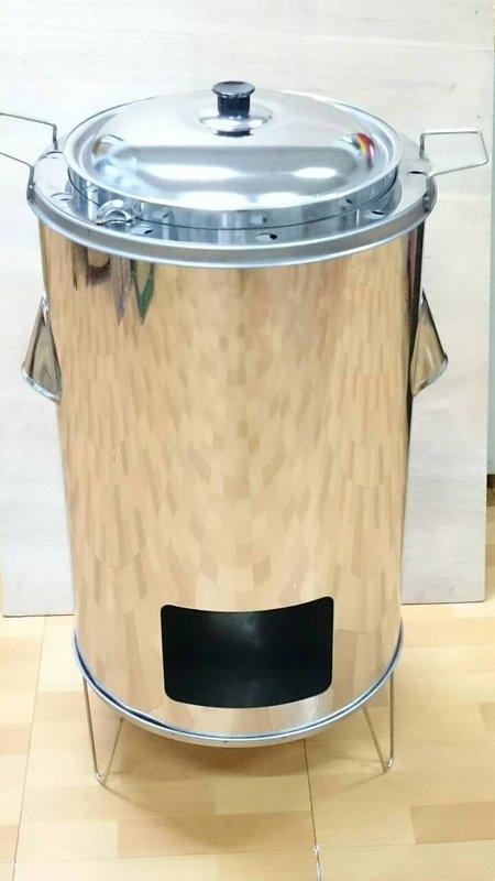 【八八八】e網購~【直立式桶仔雞爐(單隻)】烤肉架 土窯雞 烤雞 烤雞爐