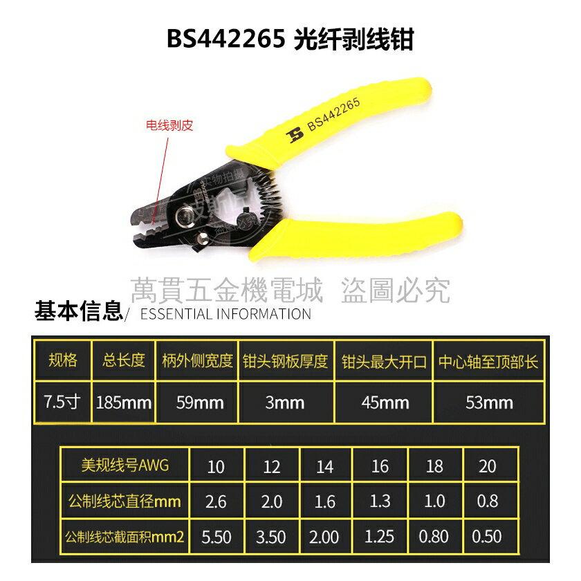 熱銷新品 波斯工具 多功能剝線鉗壓線 電纜剪刀 拔線刀 米勒鉗 不鏽鋼撥線鉗 電工剝皮線鉗