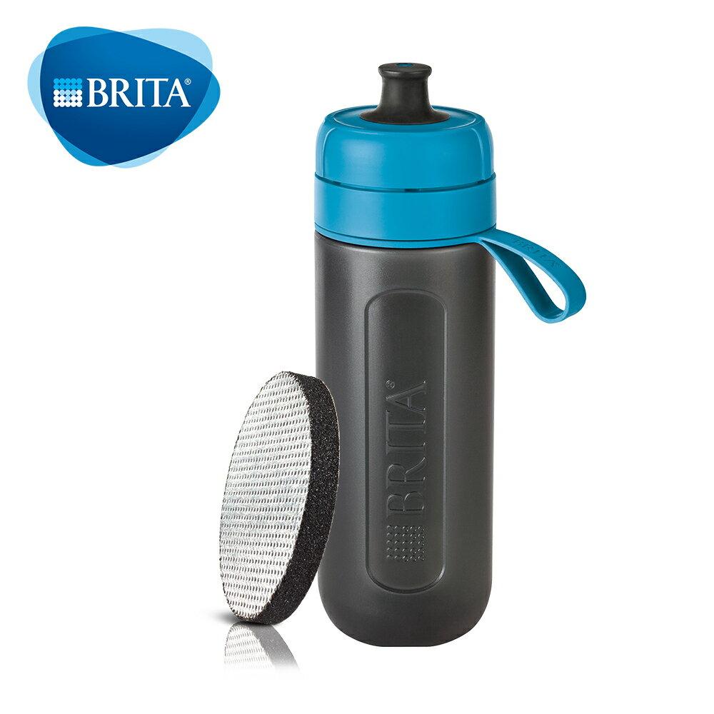 BRITA Fill&Go Active運動濾水瓶(紫/綠/藍)│9481生活品牌館