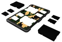 又敗家@JJC超薄名片型兩張SD+四張Micro SD記憶卡收納盒MCH-SDMSD6記憶卡儲存盒放置盒儲藏盒SD卡卡盒儲放盒TF卡收納盒TF卡儲存盒TF儲存盒