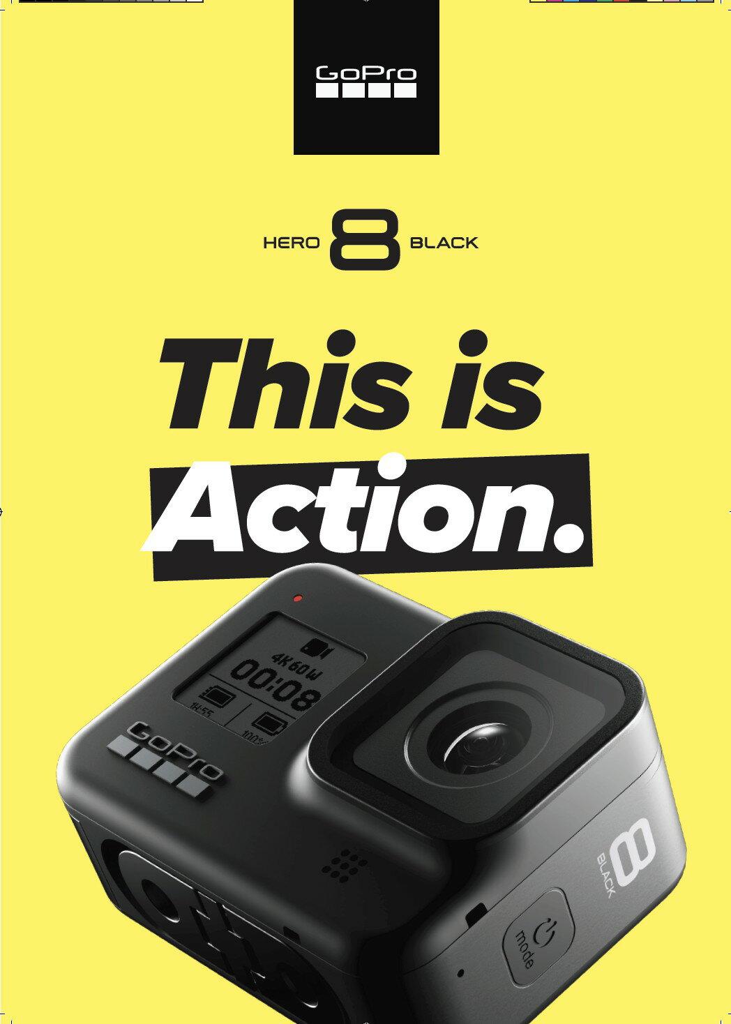 任我行騎士部品 Gopro Hero8 Black 黑 運動 攝影機 極限運動 防水 錄影 拍照 相機
