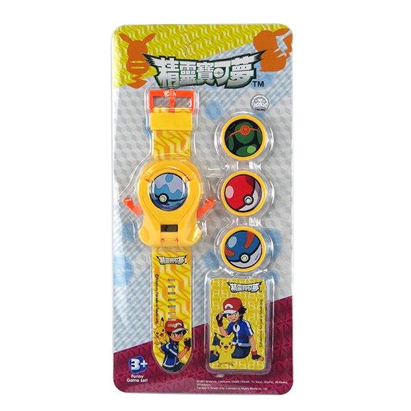 【888便利購】精靈寶可夢電子手錶發射器(授權)(附電池)(ST)