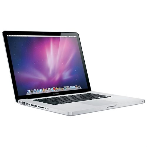 "Apple MacBook Pro 15.4"" LCD Notebook - Intel Core 2 Duo Dual-core (2 Core) 2.66 GHz - 4 GB DDR3 SDRAM - 320 GB HDD - Mac OS X 10.6 Snow Leopard - 1440 x 900 - Aluminum - DVD-Writer - NVIDIA GeForce 9400M, GeForce 9600M GT - Bluetooth - Front"