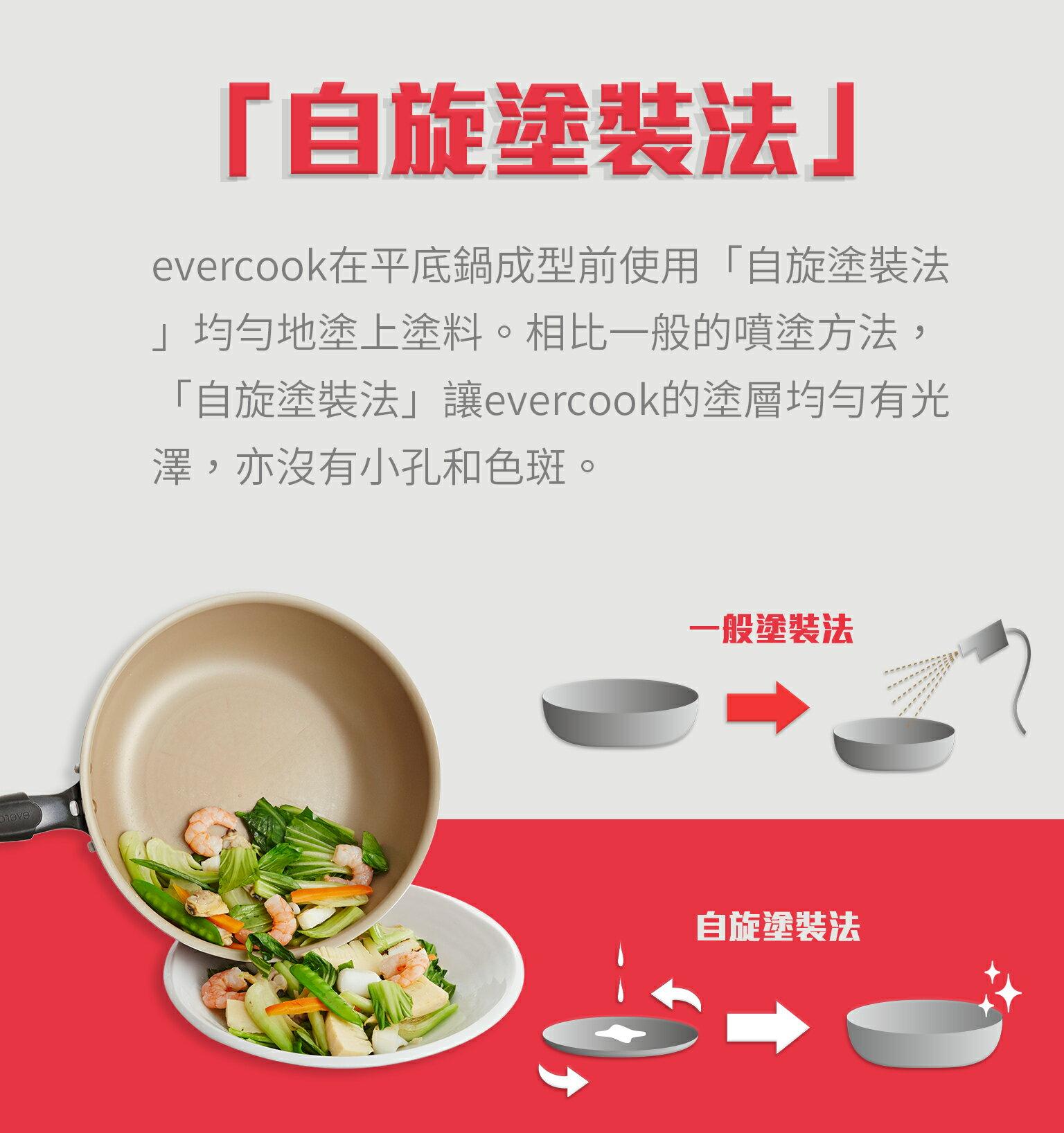 【日本Doshisha evercook】三件組-炒鍋 26cm+炒鍋 28cm+玉子燒-15*18cm 6