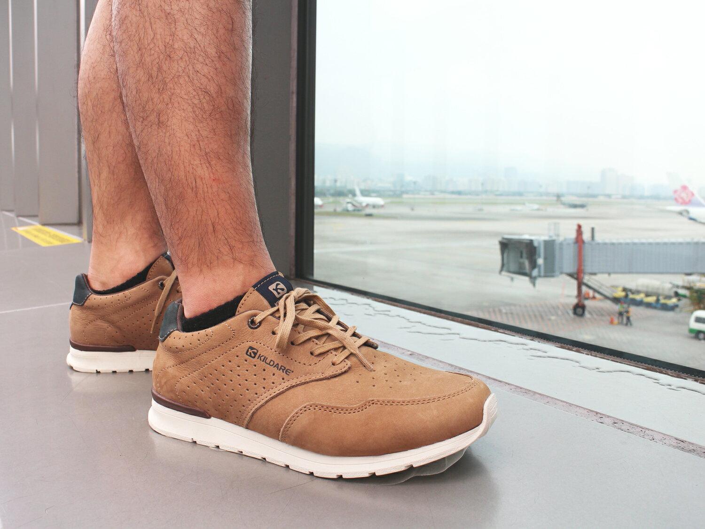 【全店點數15倍送】Kildare 巴西綁帶休閒鞋 淺棕 男 慢跑 1