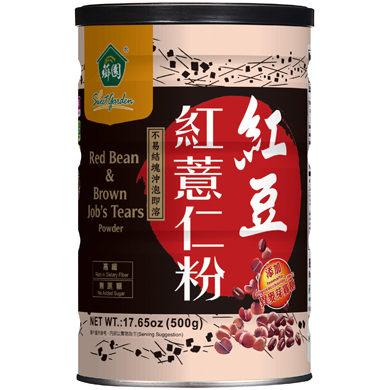 薌園 紅豆紅薏仁粉 500gx4罐