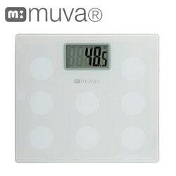 體重計SA5402WH[典雅白]MUVA圓圓樂電子體重機