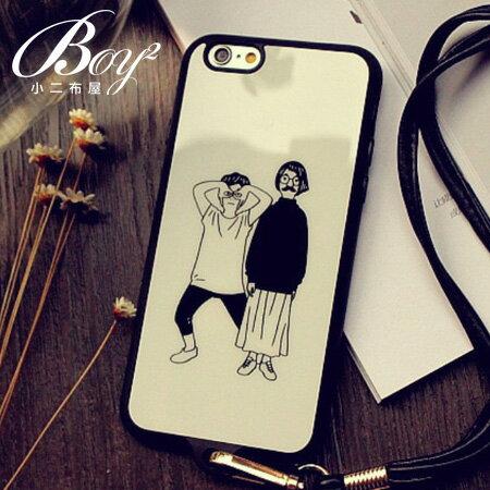☆BOY-2☆【N4008】多款圖案造型掛繩手機殼 蘋果iPhone6 5/5s - 限時優惠好康折扣