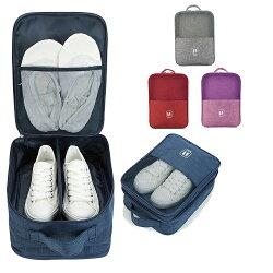 牛津布鞋包 鞋收納袋 收納包 防潑水 旅行收納 牛津布收納包 多功能鞋包 拉桿包【RB544】