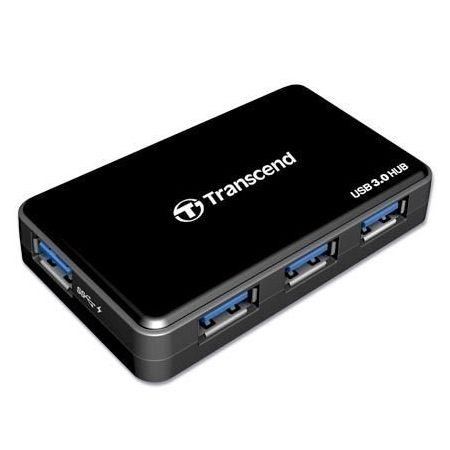 【新風尚潮流】創見 USB3.0 4-Port Hub 可快速充電 iPhone iPad TS-HUB3K