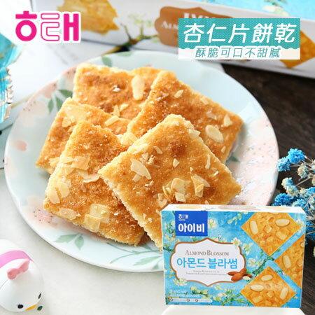 韓國 HAITAI 海太 杏仁片餅乾 89g 杏仁片 餅乾 薄片餅乾 【N600024】