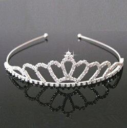 天使嫁衣【DX004】10款水鑽皇冠造型頭飾女童髮箍˙預購訂製款