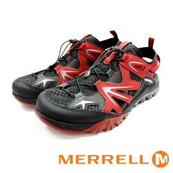 MERRELL  CAPRA RAPID SIEVE 防潑水 水陸兩棲休閒鞋 紅 男 防水登山鞋健行鞋休閒鞋 ML37679