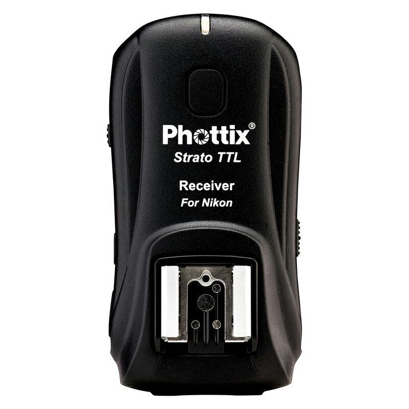 ◎相機專家◎ Phottix Strato TTL 無線閃燈接收器 for Nikon 群光公司貨