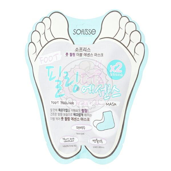 【韓國SOFLISSE】FootPeeling去角質死皮保養足膜