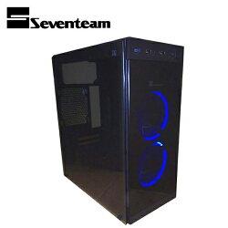 Seventeam 七盟 ST-G361 塔羅斯玻璃機殼 黑色【三井3C】