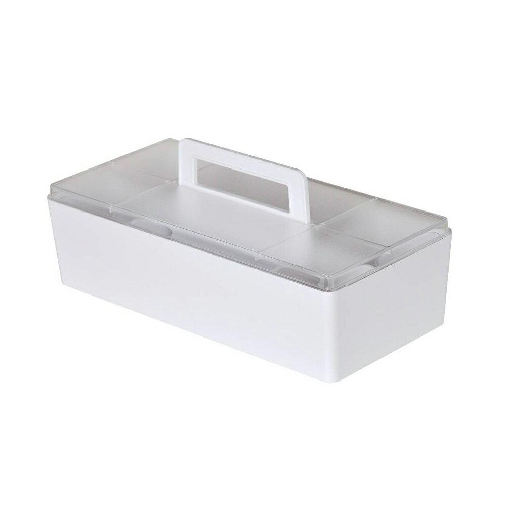 樹德 CTB-3215L 手提收納盒-白色