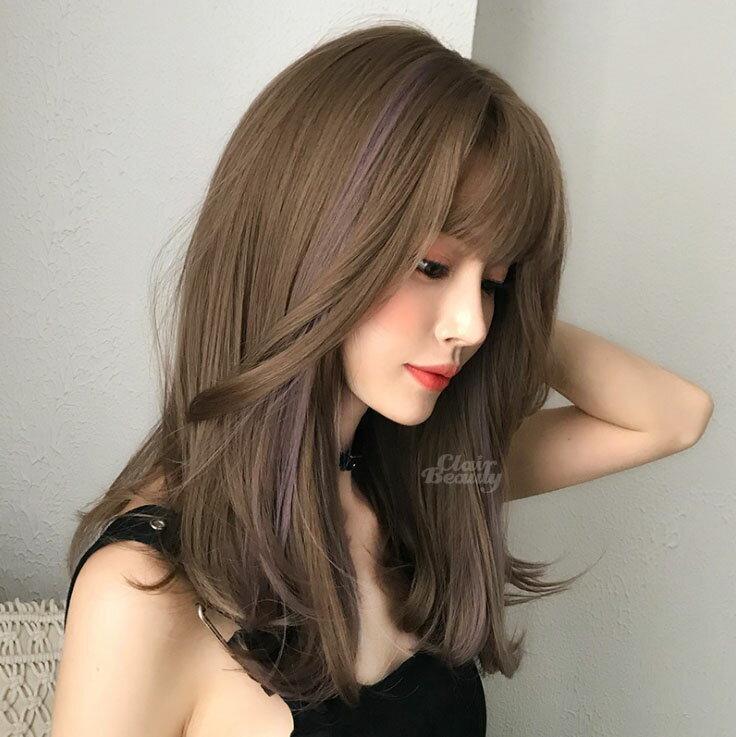 新款女神系假髮 自然 耐熱 時尚微捲 超美中分 假髮【MA555】☆雙兒網☆