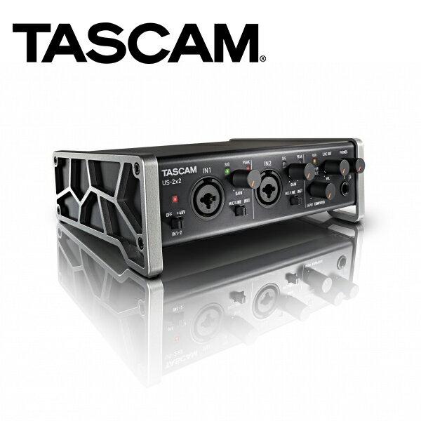 ◎相機專家◎TASCAM達斯冠US-2x2USB錄音介面2x2動態基礎錄音US-2x2TPXLR公司貨