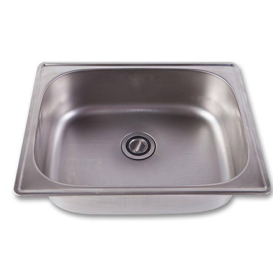 不鏽鋼水槽面板[長62cm] 洗衣槽 洗手台 洗手槽 不鏽鋼水槽【JL精品工坊】