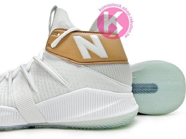 2019 最新 NBA 總冠軍 Kawhi Leonard 強力代言 NEW BALANCE WMNS OMN1S 女鞋 女版 白金 全腳掌的 FUELCELL 緩震科技 MVP 籃球鞋 紐巴倫 小可愛 (WBOMN1TS) 1219NBA 3