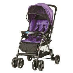 【寶貝俏媽咪】Merissa 美瑞莎 LT-3R Light 雙向手推車- 時尚紫