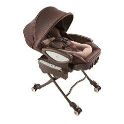 【Aprica】 愛普力卡 電動餐搖椅 YuraLism AUTO Premium Plus 天鵝堡BR★贈貝恩嬰兒保養柔濕巾80抽12入(送完止)