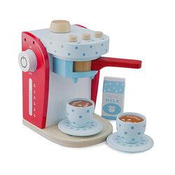 免運費《 荷蘭 New Classic Toys 》木製廚具 - 木製家家酒咖啡機 - 10700