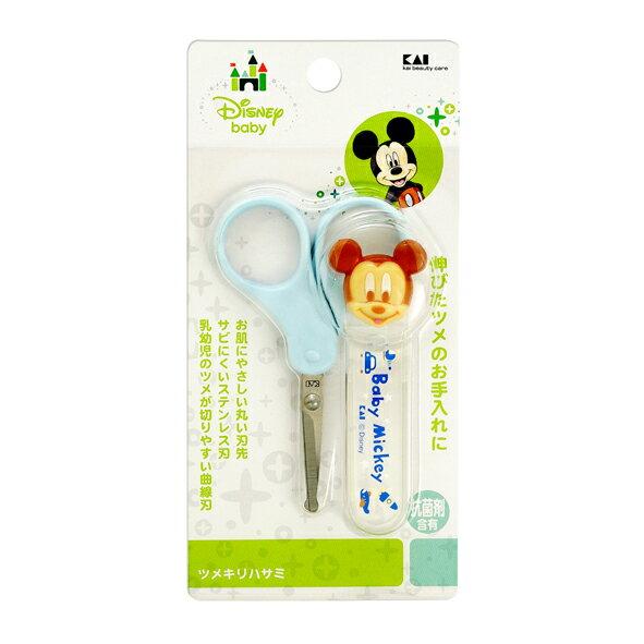 寶貝屋 ~ 貝印 ~ Disney迪士尼米奇圓頭安全剪刀