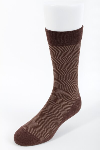 【吳福洋】男版指無痕環保咖啡襪 (2雙入)