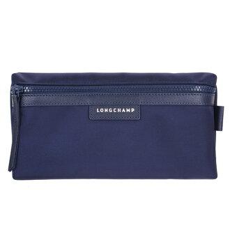 【LONGCHAMP】 LE PLIAGE NEO 系列 化妝包 - 深藍【滿3000領券現折300】