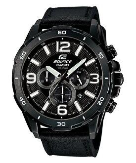 CASIO EDIFICE EFR-538L-1A極惡荒地時尚流行腕錶/黑面49mm