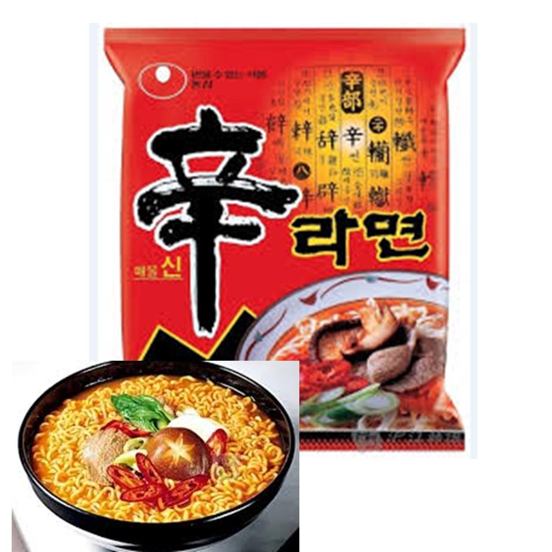 韓國農心辛拉麵泡麵  1包入 【樂活生活館】★5月全館滿499免運