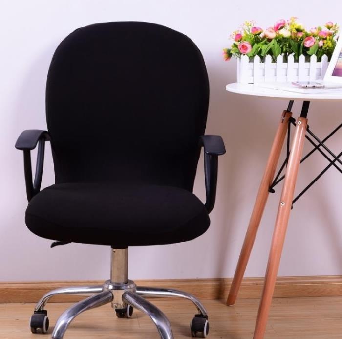 椅子套 四季簾華電腦椅套 辦公椅套 轉椅套 餐椅套 旋轉升降椅子套 椅罩 0
