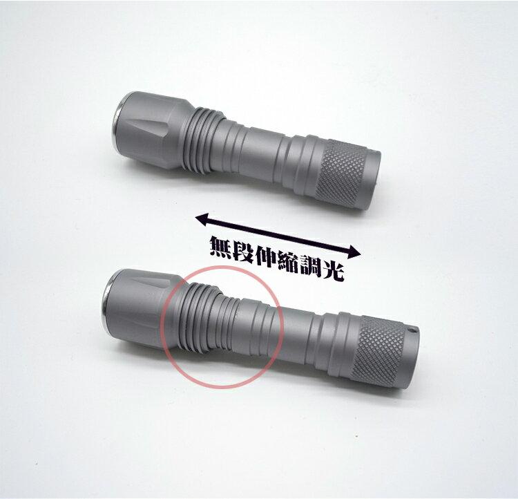 千里眼 L2(暖白) 自由調焦 1250流明 超強亮度 手電筒 2